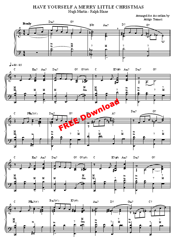 click on the pdf download red button to download the sheet music available for free