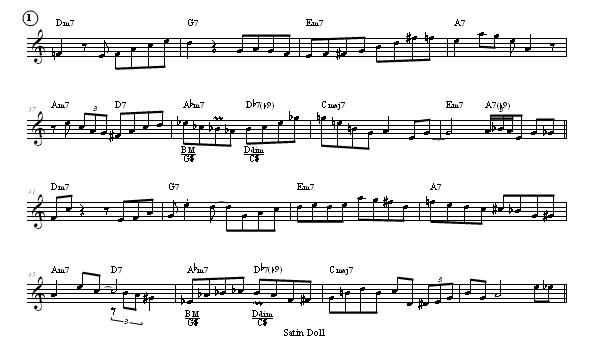 Satin Doll Accordion Sheet Music